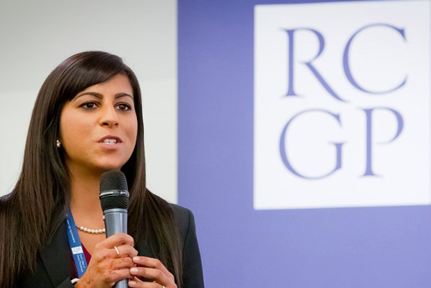Dr Nish Manek (Photo: RCGP/Grainge Photography)