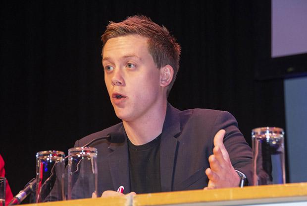Political commentator and activist Owen Jones (Photo: Pete Hill)