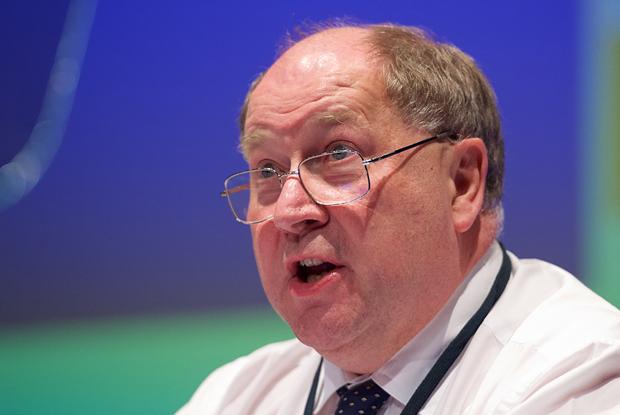 Former GPC negotiator Dr Peter Holden