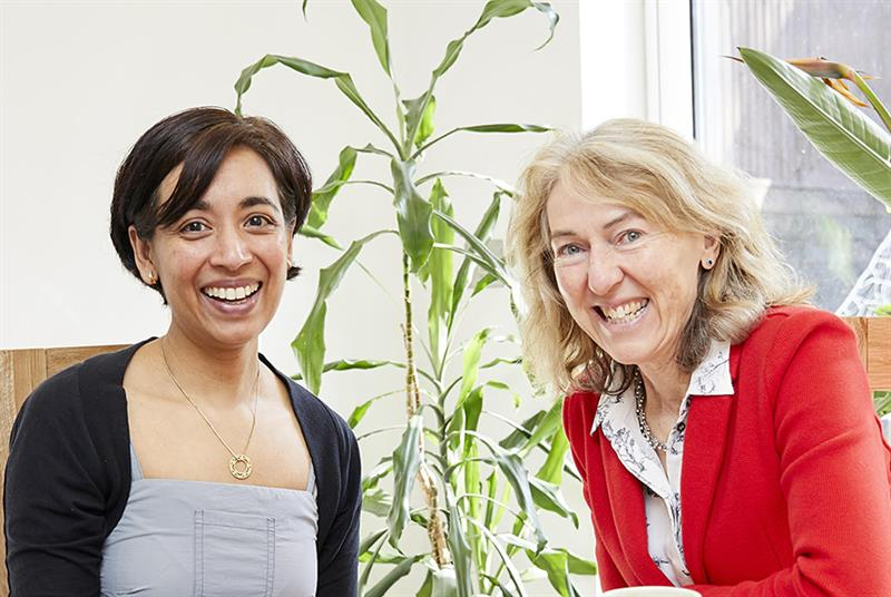 Dr Pritti Aggarwal (left) and Dr Sally Ross