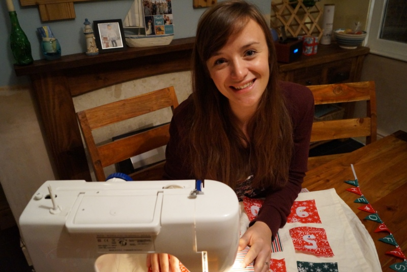 Dr Rachel Duffield:  'We decided this year to run a Christmas Craft Day.'