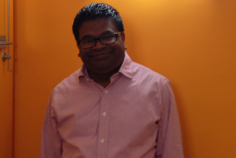 Dr Ramanatham: 'I've been recording my experiences with the surgery and some of my feelings.'