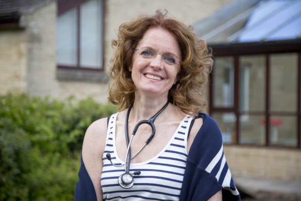 Dr Louise Jordan: 'We know our patients, from cradle to grave, and we can really individualise treatment' (Photo: BBC)
