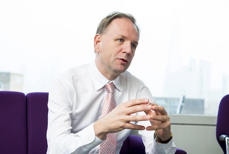 Sir Simon Stevens (Photo: Alex Deverill)
