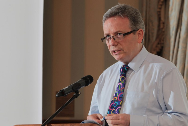 Tom Black: GPs will not take on more work without extra funding (photo: GPC NI)