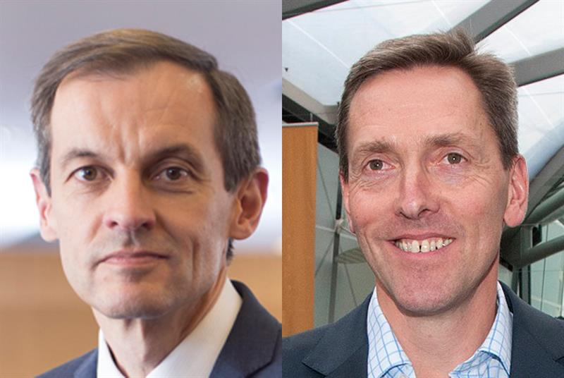 BMA GP committee chair Dr Richard Vautrey and RCGP chair Professor Martin Marshall (Photos: BMA; Pete Hill)