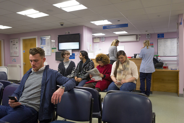 Waiting room: some areas have far more patients per GP (Photo: SolStock/Getty Images)