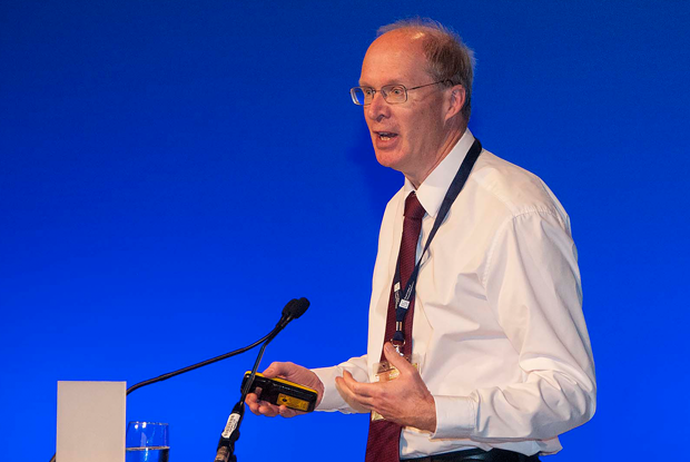 Professor John Young (Photo: Pete hill)