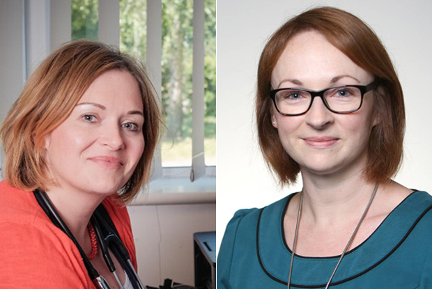 Dr Katie Bramall-Stainer (l) and Dr Zoe Norris (r) (Photos: Peter Williams Photography/BMA)