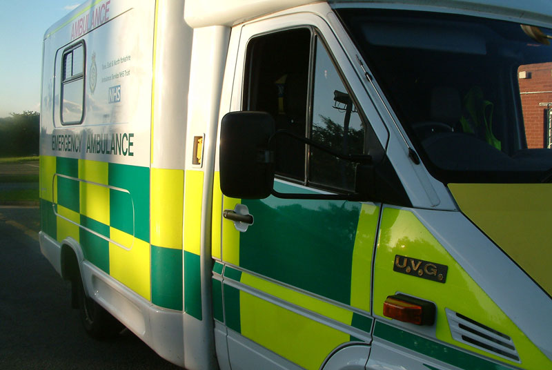 The hospital was under pressure, mainly linked to a spike in ambulances arriving