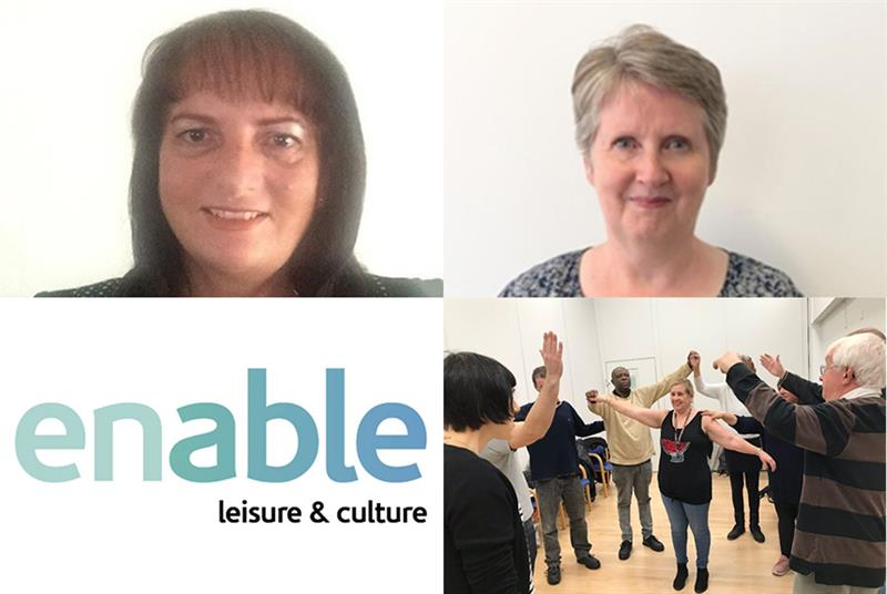 Award winners: (clockwise from top left) Tracy Pike, Ethna Parker, Outside Edge Theatre and Enable Leisure and Culture