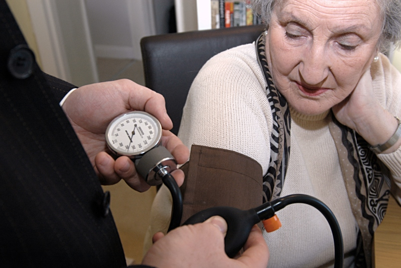 Blood pressure: management part of diabetes care indicators (Photo: JH Lancy)