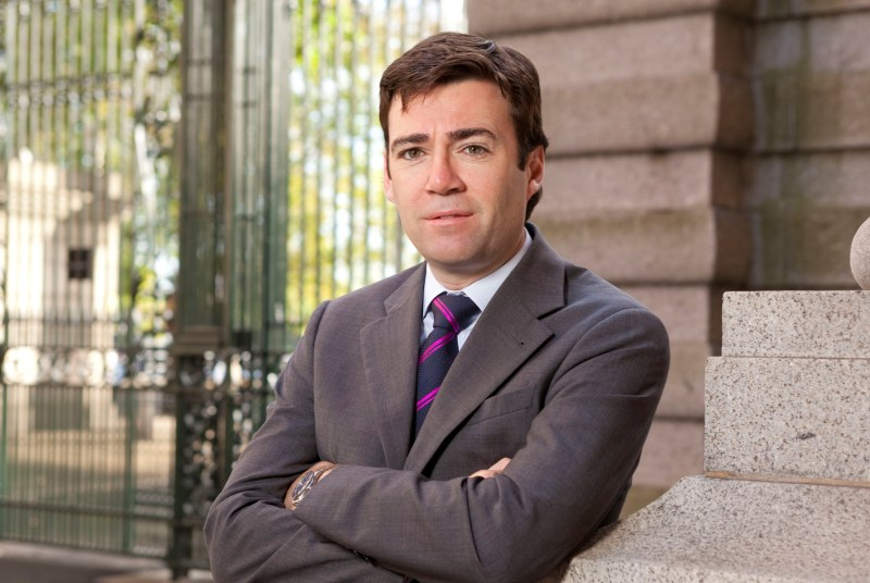 Andy Burnham: Practices would have choice to merge with hospital-led bodies (Photo: Alex Deverill)