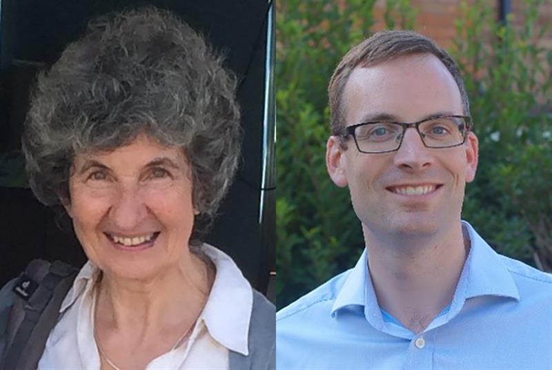 Dr Marian Davis and Dr Sam Finnikin