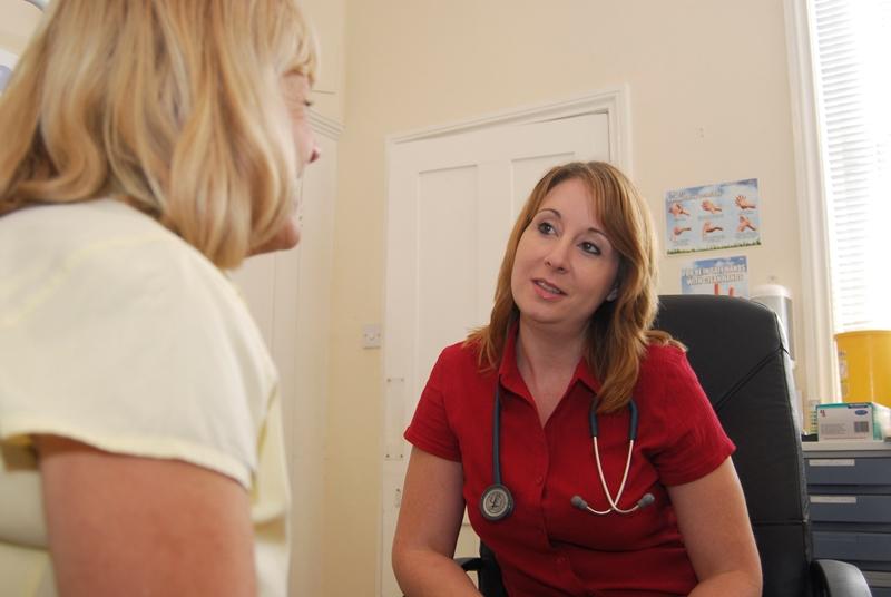 Consultation: GPs should urge patients to exercise (Photo: JH Lancy)