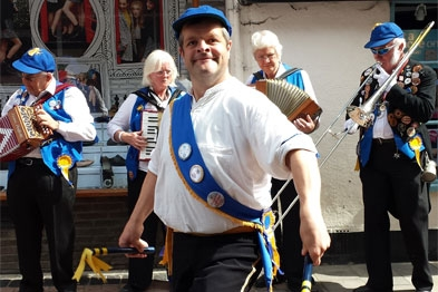 Dr Ollerton: 'I will keep both (Morris dancing and bell-ringing) going for as long as I can still perform to a high level.'