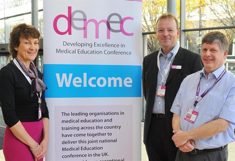 Pictured l-r: Dr Anne Hawkridge, Dr Mark Coombe, Dr Bob Kirk. Credit: Sam Atkins
