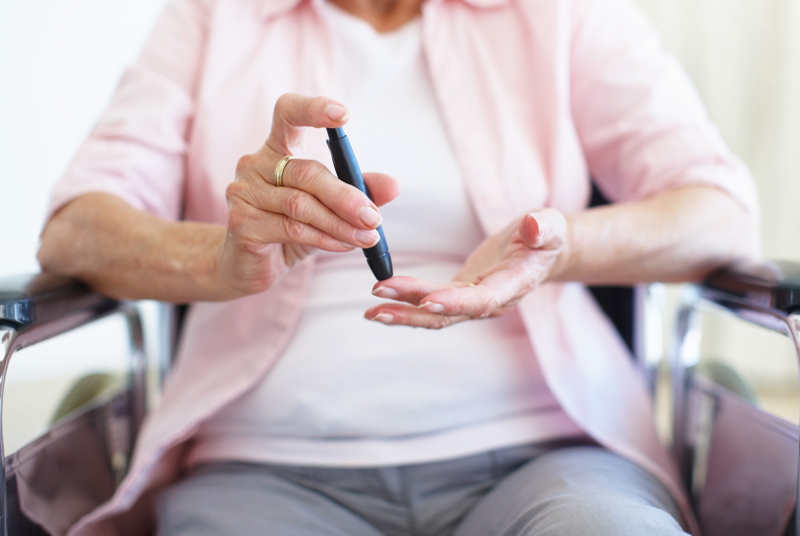 Many patients in care homes have undiagnosed diabetes (photo: iStock)