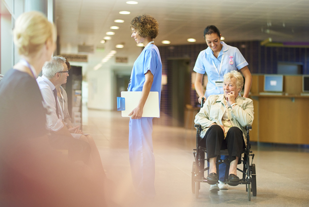 Hospital discharge (Photo: sturti/Getty Images)