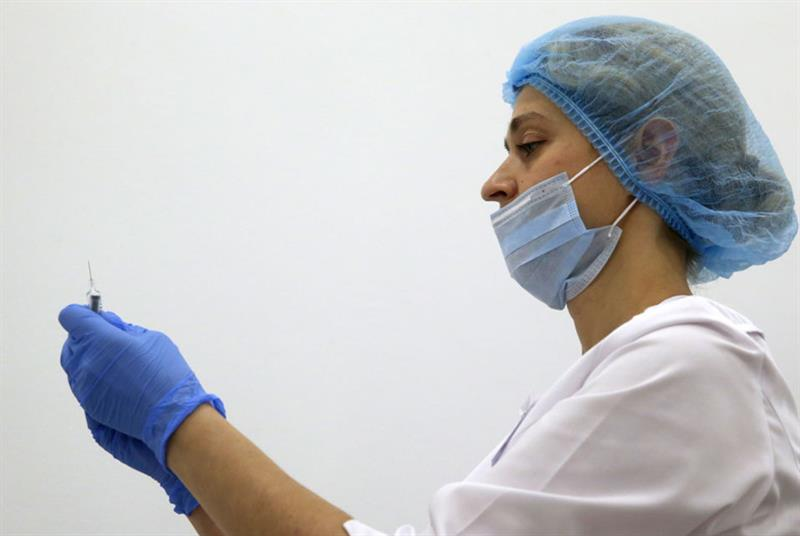 Flu jab (Photo: SergeiFedeichev/Tass/Getty Images)