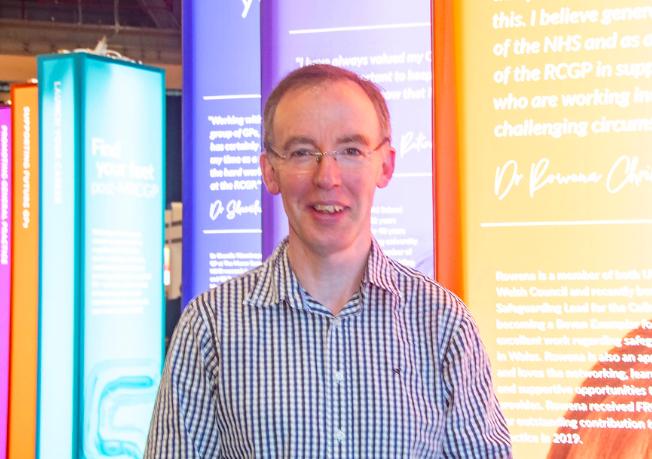 Dr Graham Mackenzie (Image: Pete Hill)