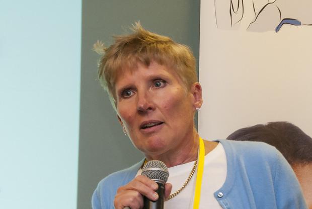 Public health consultant Helene Irvine (Photo: Pete Hill)