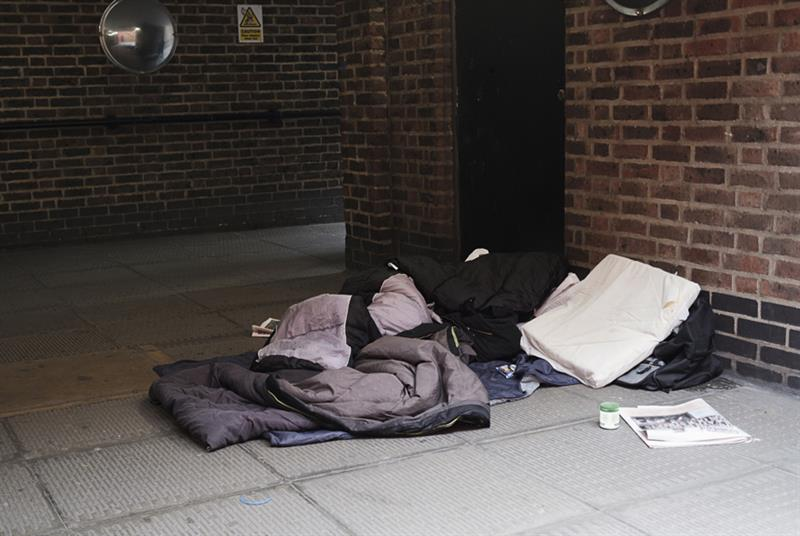 Homeless people arriving at A&E rising (Photo: Michael Mann/Getty Images)