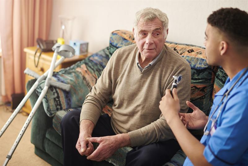 Support for older patients at home (Photo: sturti/Getty Images)