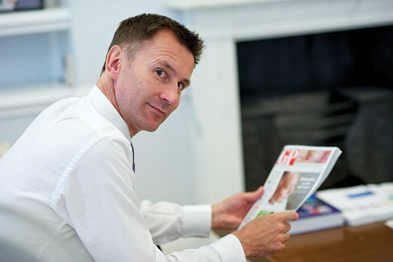 Mr Hunt: 'GPs are at the heart of that revolution.'