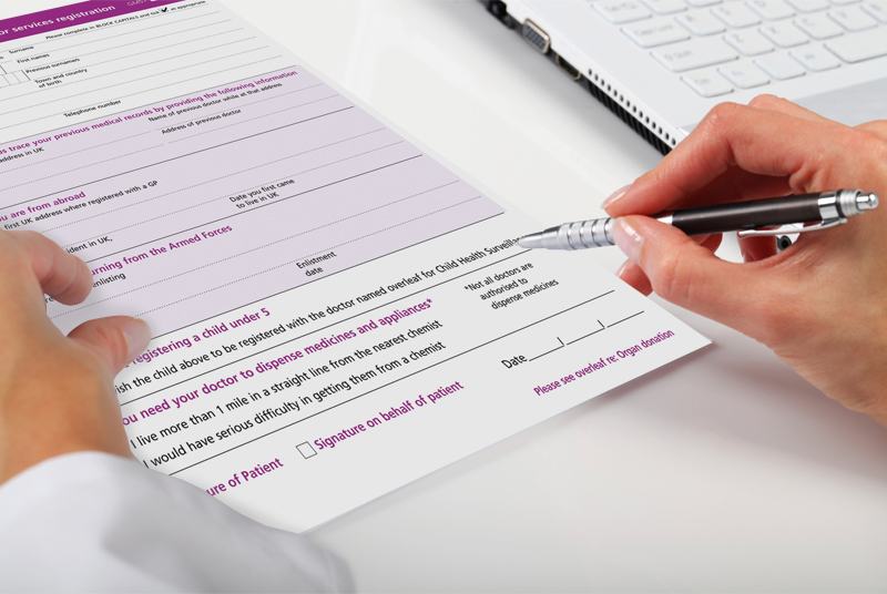 Patient registration: concern over out-of-area scheme (Photo: iStock)