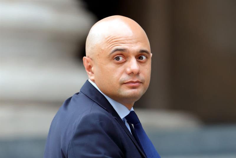 Sajid Javid: 3% pay award for NHS staff (Photo: Max Mumby/Indigo/Getty Images)