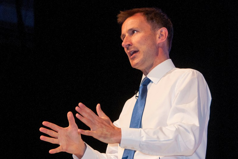 Health secretary Jeremy Hunt: plan to cut GP bureaucracy