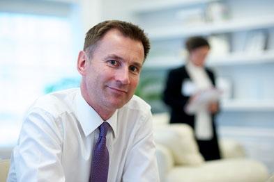 Jeremy Hunt: care plans proposal (photo: Jason Heath Lancy)