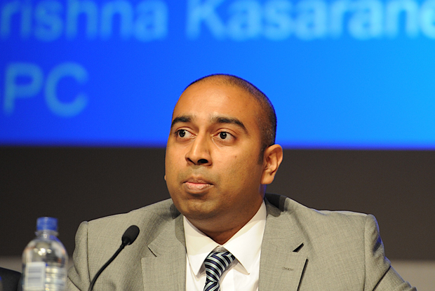 BMA workforce, education and training lead Dr Krishna Kasaraneni