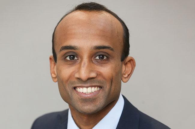 MDDUS medico-legal adviser Dr Myooran Nathan