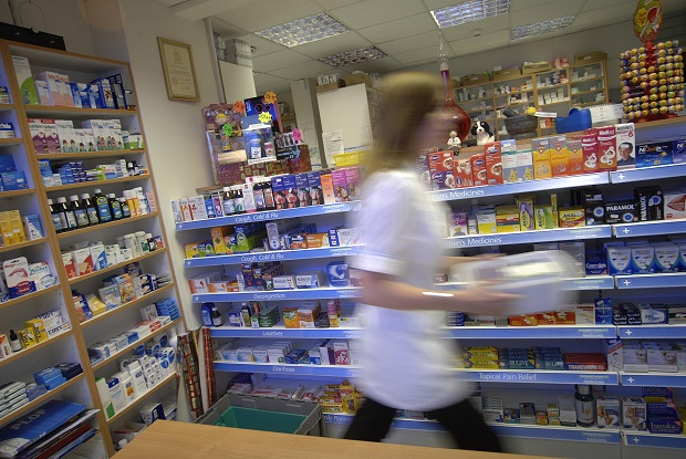 Patients urged to consider pharmacists before GP (Photo: Simon Barber)