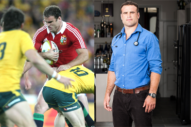 Meet Welsh rugby international and aspiring GP Dr Jamie Roberts