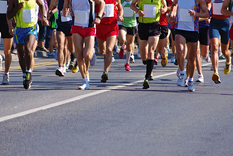 Training for marathon improved study participants' cardiac function (SPL)