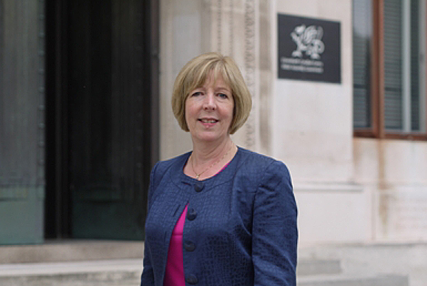 Dr Ruth Hussey, former chief medical officer for Wales