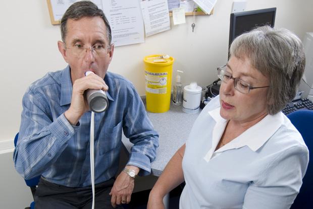 Spirometry (Photo: Jim Varney)