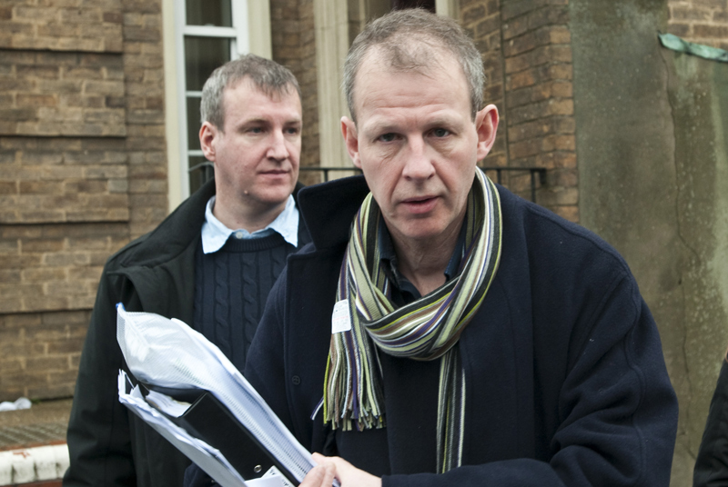 Dr Stuart Gray (right) and Rory Gray: anger over court ruling (Photo: Rex Features)