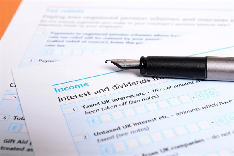 Tax return (Photo: Drazen/Getty Images)