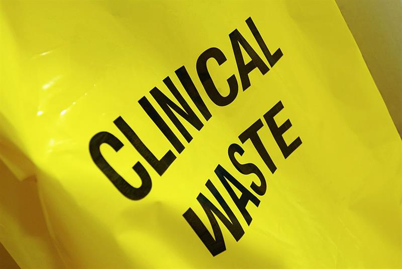 Clinical waste (Photo: Universal Images Group/Getty Images)