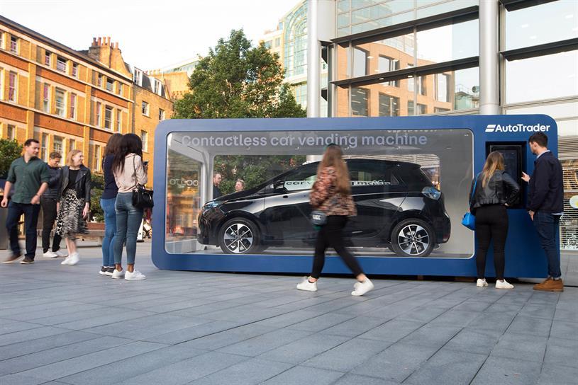 Auto Trader launches car vending machine