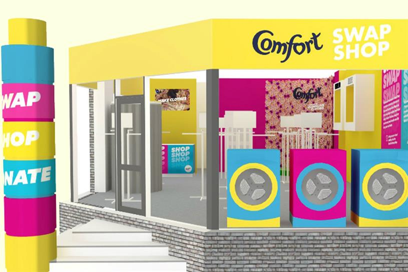 Comfort hosts clothes-swapping shop