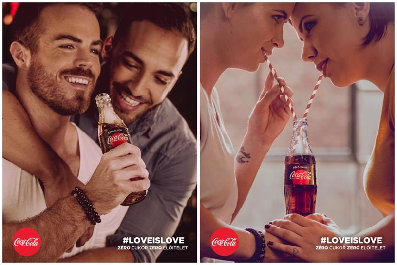 Coke creative speaks out on homophobic abuse over Hungary Pride campaign
