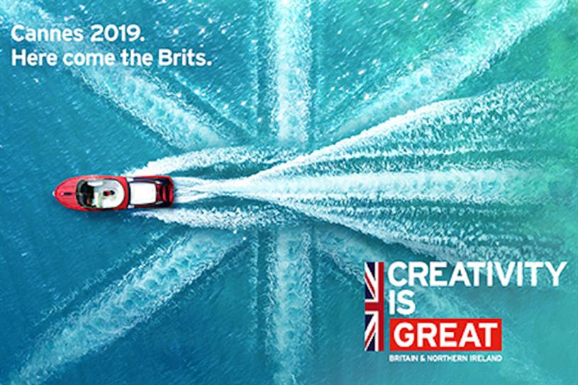 UK government to 'bang the drum' for ad exports at Cannes Lions