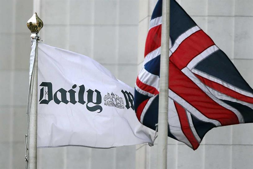 Daily Mail publisher ad revenue grows 4%