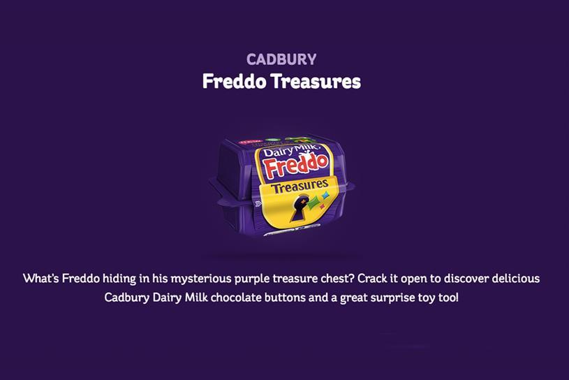 Cadbury updates Freddo Treasures campaign following backlash