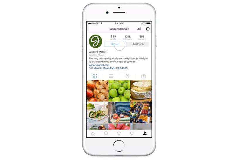Instagram launches Business Profiles